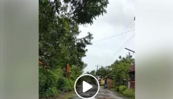 video warga kondisi jalan pemalang