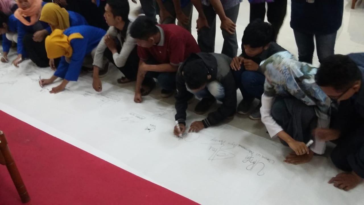 bubuhkan tanda tangan