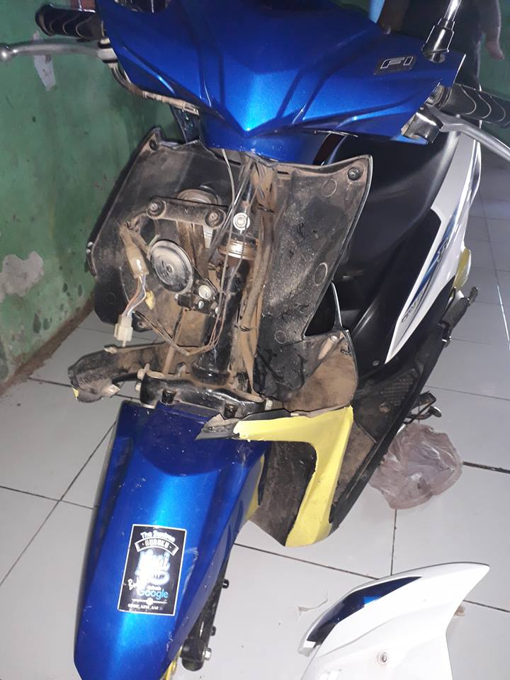 motor hancur