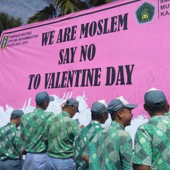 deklarasi anti valentine
