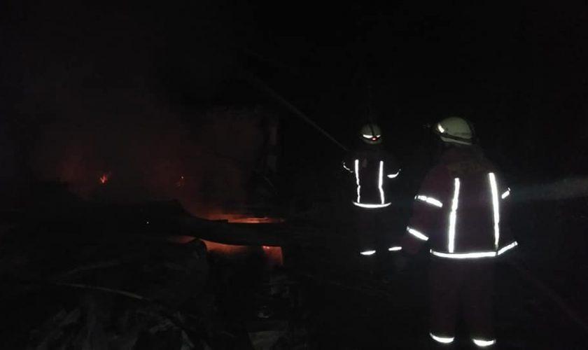 pranggok terbakar