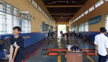 kantor kebanjiran